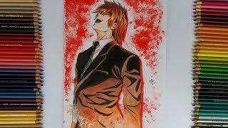 Drawing Light Yagami / Kira - Death note