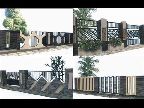 [Contoh] Desain Model Pagar Rumah Minimalis