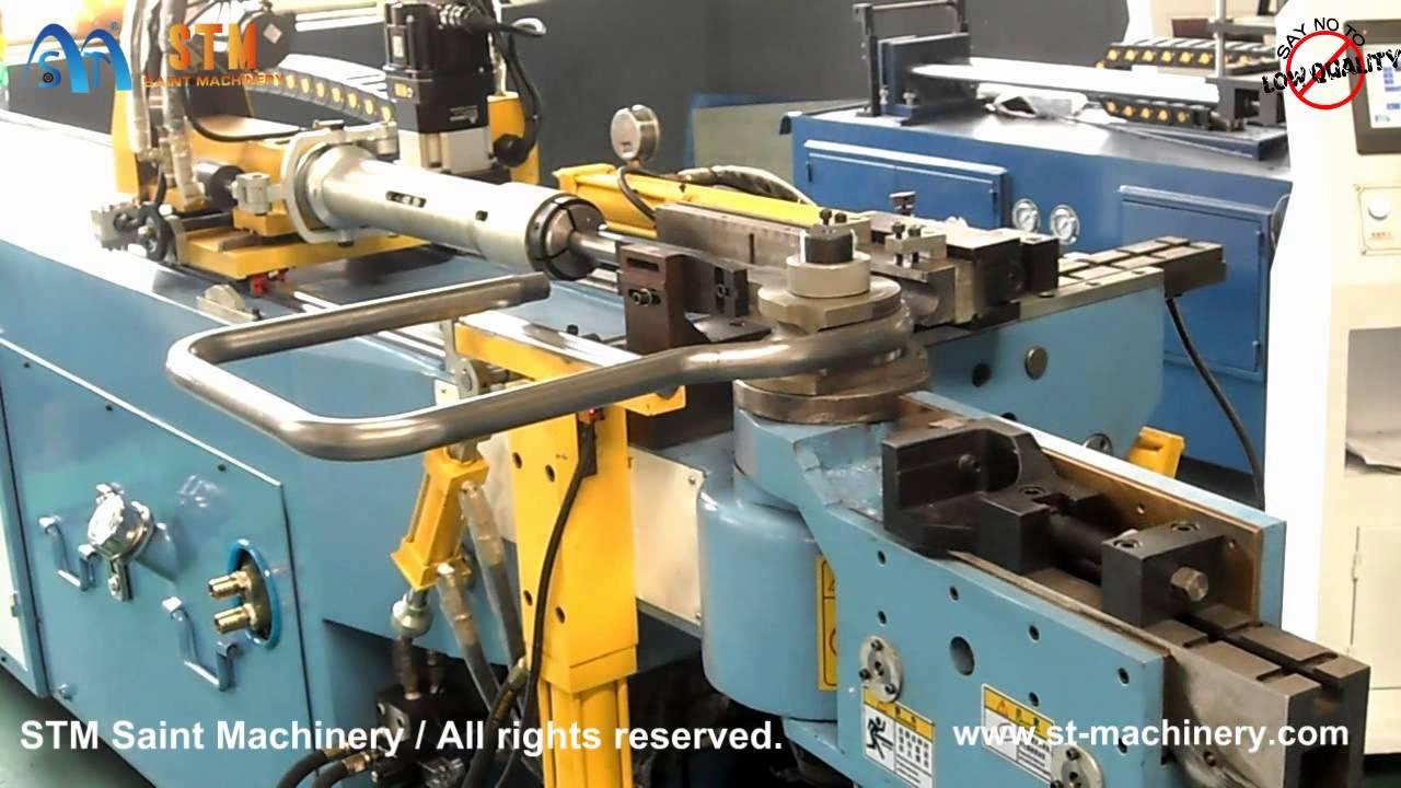 STM Saint Machinery CNC mandrel tube bender for car seat frame, pipe ...