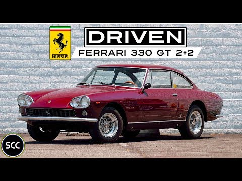 FERRARI 330 GT (First Series) 1965 - Full test drive in top gear - V12 Engine sound | SCC TV