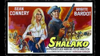SEAN CONNERY   - SHALAKO 1968   SOUNDTRACK