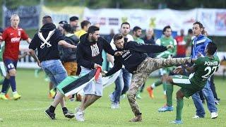 Empörung nach Angriff auf Haifa-Spieler