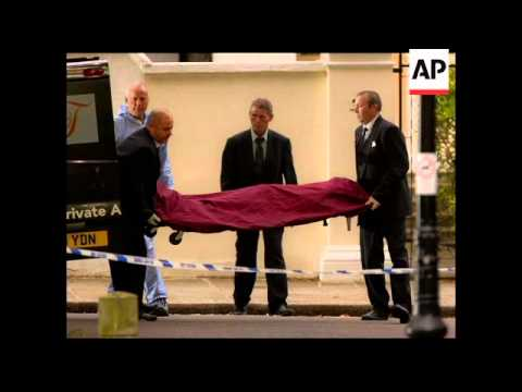 Still Amy Winehouse Body Being Removed