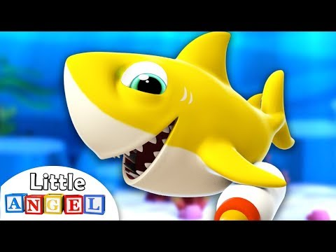bébé-requin-dou-dou-|-baby-shark-par-little-angel---français