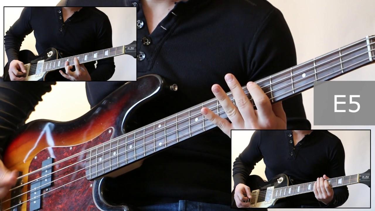 название партии на бас гитаре ковролина