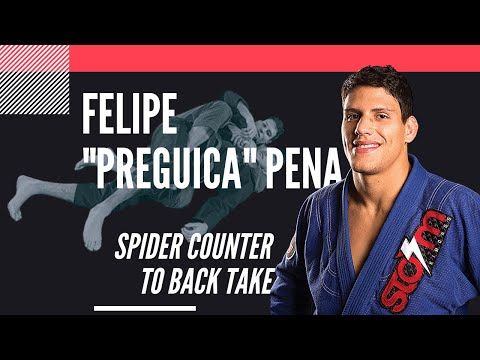 "felipe-""preguica""-pena,-spider-counter-to-back-take:-jiu-jitsu-magazine,-issue-#29."