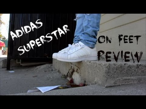 brand new 9107b ffabf Adidas Superstar All White | Review | On foot | Featured Fits