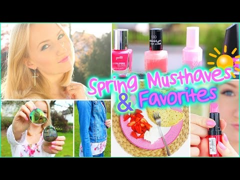 SPRING MUSTHAVES & FAVORITES - Beauty, Essen, Lifestyle, Fashion