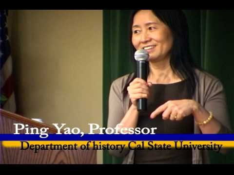 Ping Yao Professor Department Of History Cal State LA