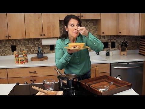 Blue Cheese Tomato Soup Recipe // One Pan Nan