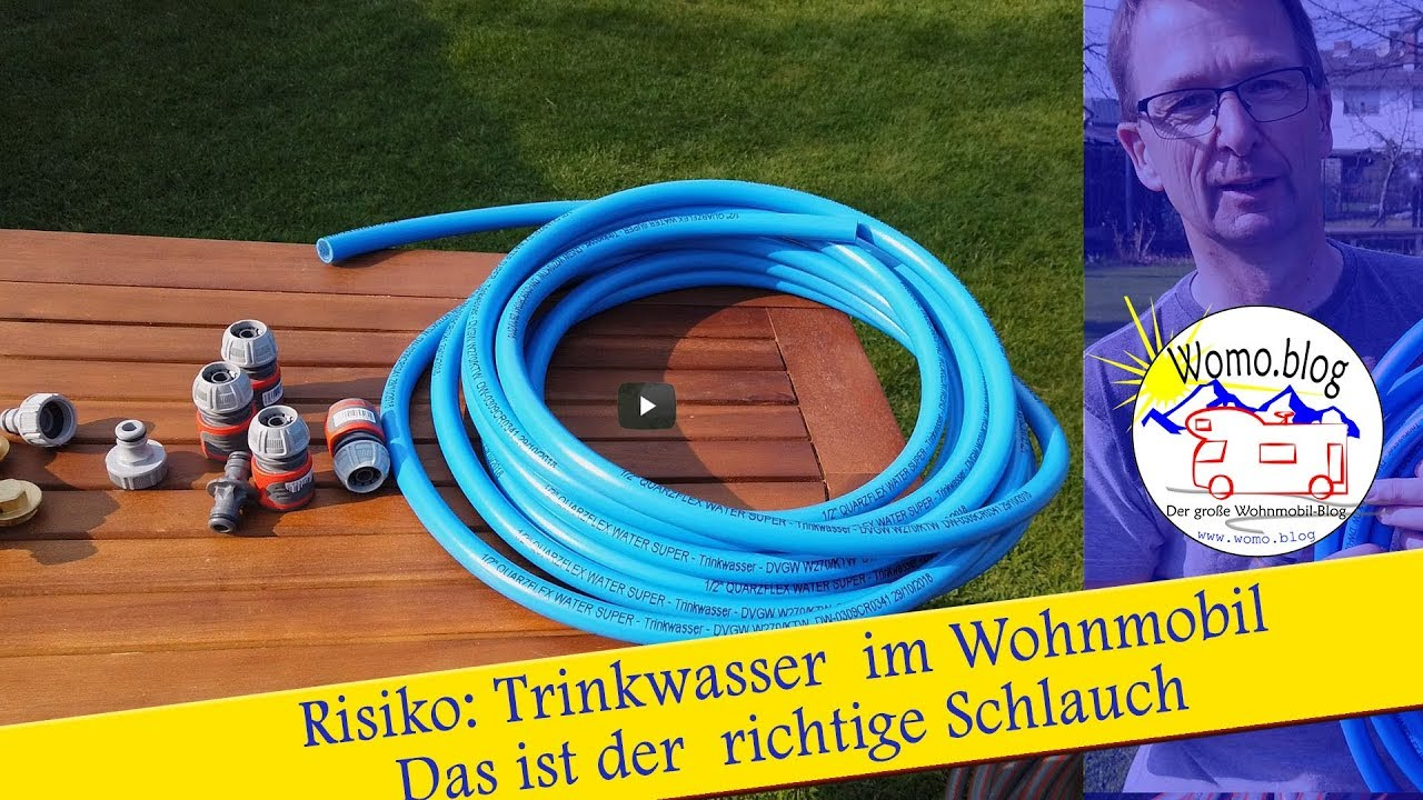 Gefahr durch Keime! Wasserschlauch im Wohnmobil! › Womo.blog