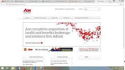 Aon Corporation Insurance 2017