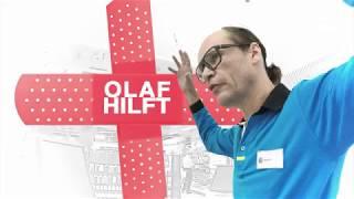 Olaf hilft im Elektromarkt