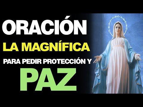 🙏 Oración de la Magnífica PARA PEDIR PROTECCIÓN Y PAZ – ¡Ayúdame! 🙇️