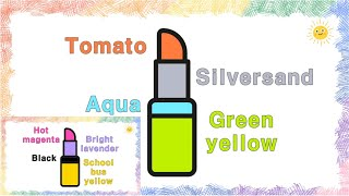 Lipstick | Drawing for Kids | …
