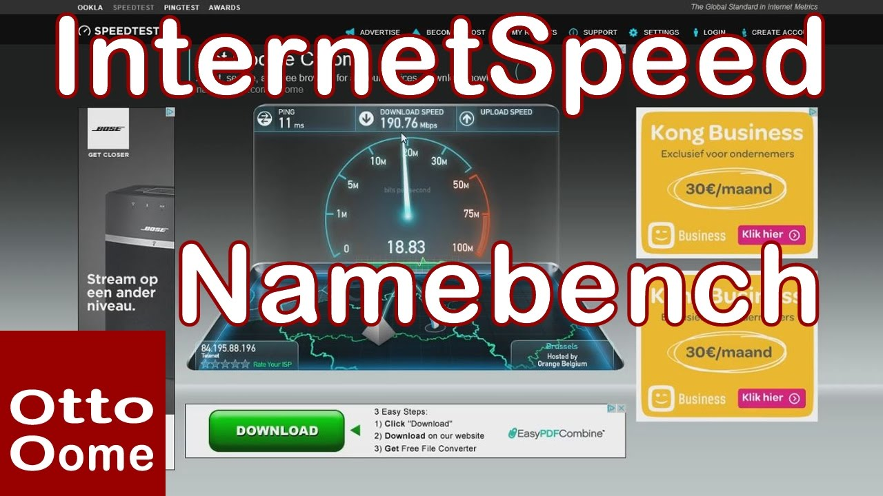 test uw internet snelheid
