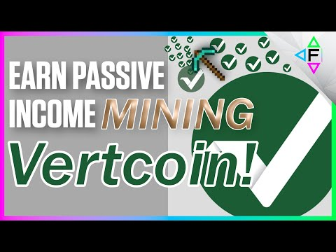 Vertcoin One-Click-Miner | Easiest Coin To Mine On A Gaming Rig | Earn Passive Income With Crypto