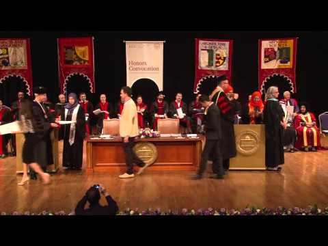 AUS Events | Honors Convocation (2013)