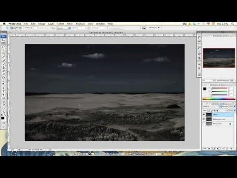 Cómo hacer el efecto noche americana en Photoshop : Efectos en Photoshop