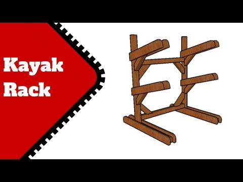 Kayak Rack Plans