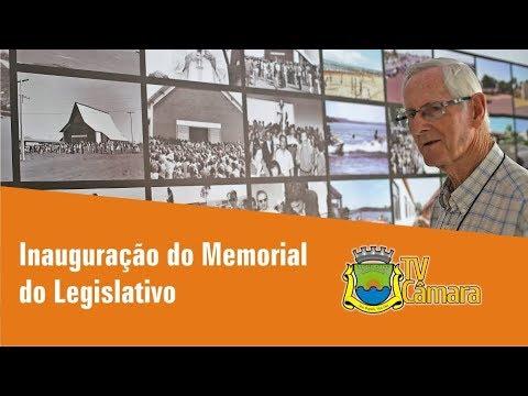 INAUGURACAO MEMORIAL DO LEGISLATIVO