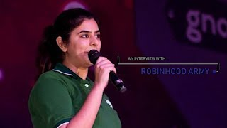 An Interview with Robin Hood Army || gnoTalks 2018 || Avishkar 2018