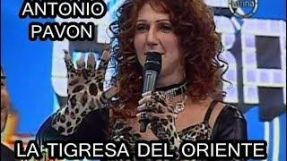 ANTONIO PAVON SE CONVIERTE EN LA TIGRESA DEL ORIENTE - Tu Cara Me Suena [05/01/14]