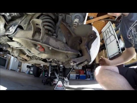 Ford Ranger Suspension Overhaul Part 1 (Disassembely)
