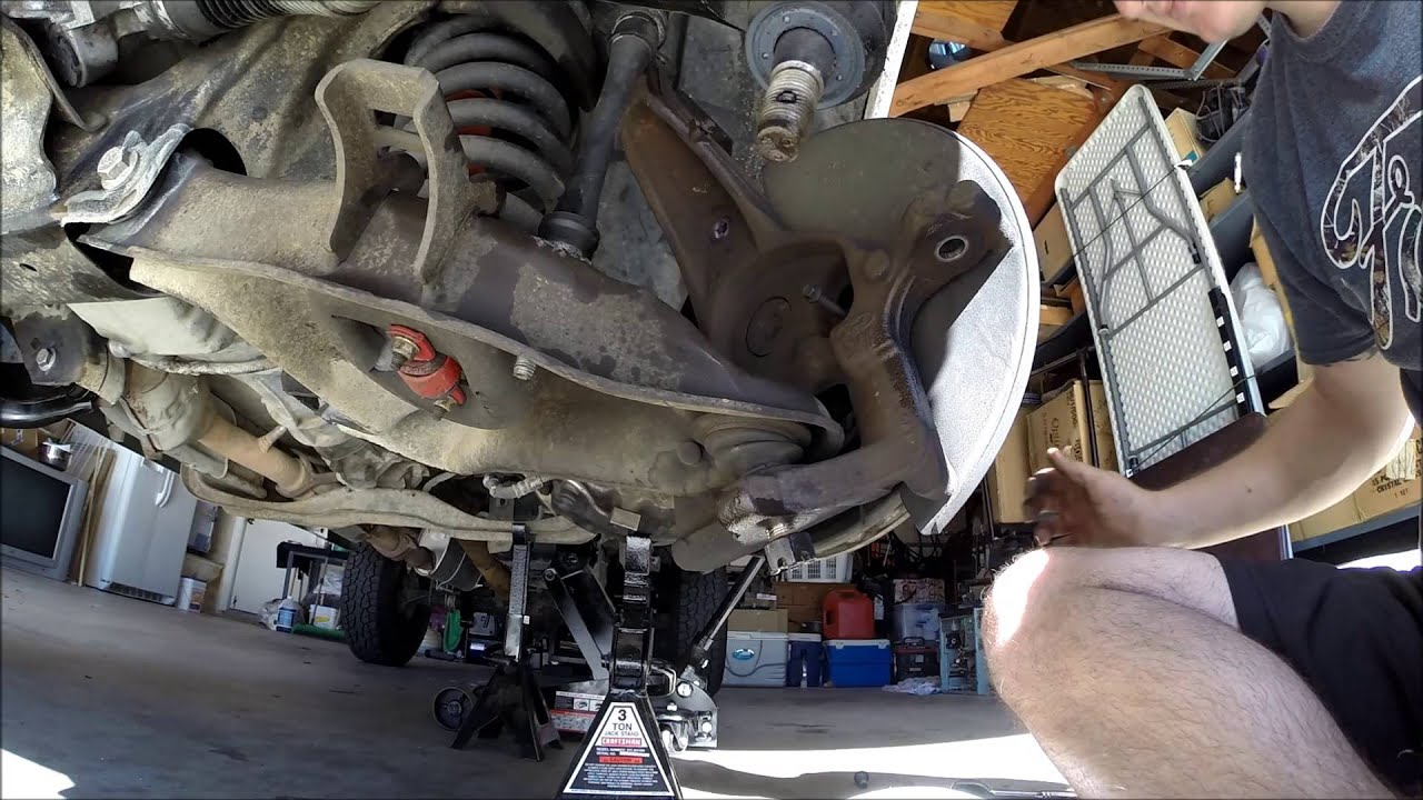 Ford Ranger Suspension Overhaul Part 1 (Disassembely