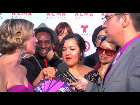 ALMA Awards 2013 Red Carpet LIVE with Aaron & Kelly Part 1