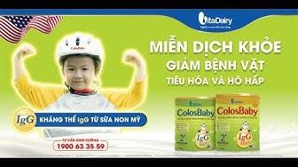 ColosBaby - Miễn dịch Khỏe - Giảm bệnh vặt