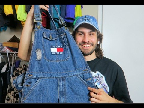 convenience goods buy real sneakers CUSTOM VINTAGE TOMMY HILFIGER OVERALLS + TRIP HAUL!!