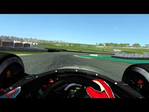 rFactor2 - Ferrari 643 @ São Paulo (Interlagos) Nice Real Road example