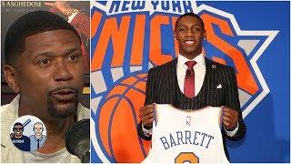 Knicks making RJ Barrett feel appreciated by organization – Jalen Rose | Jalen & Jacoby