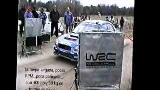 Largadas en Rally 2004 Argentina