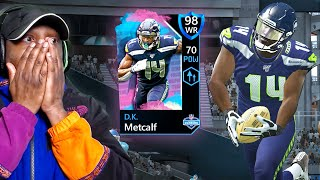 COMBINE D.K. METCALF is UNSTOPPABLE! Madden Mobile 20 Pack Opening Gameplay Ep. 22