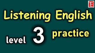English Listening Practice Level 3 | Learn English Listening Comprehension | English 4K