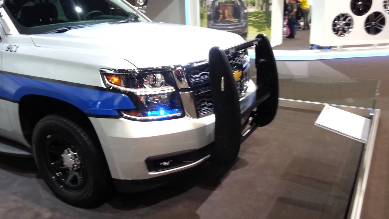 2015 Chevy Tahoe Police SUV - YouTube