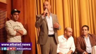 أشرف عبدالباقي وأوس أوس في افتتاح 'مسرح مصر للعرائس'.. صور