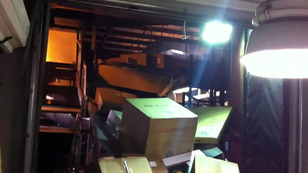 Loading at UPS - YouTube