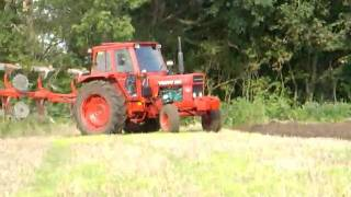 Volvo BM T 700 ploughing in late summer 2008