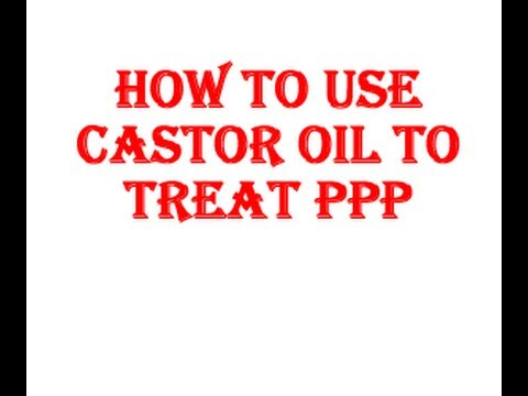 home remedies for ppp removal