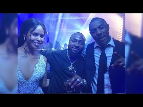 Davido's Performance At Idris Elba And Sabrina Dhowre's wedding In Marrakech, Morocco.