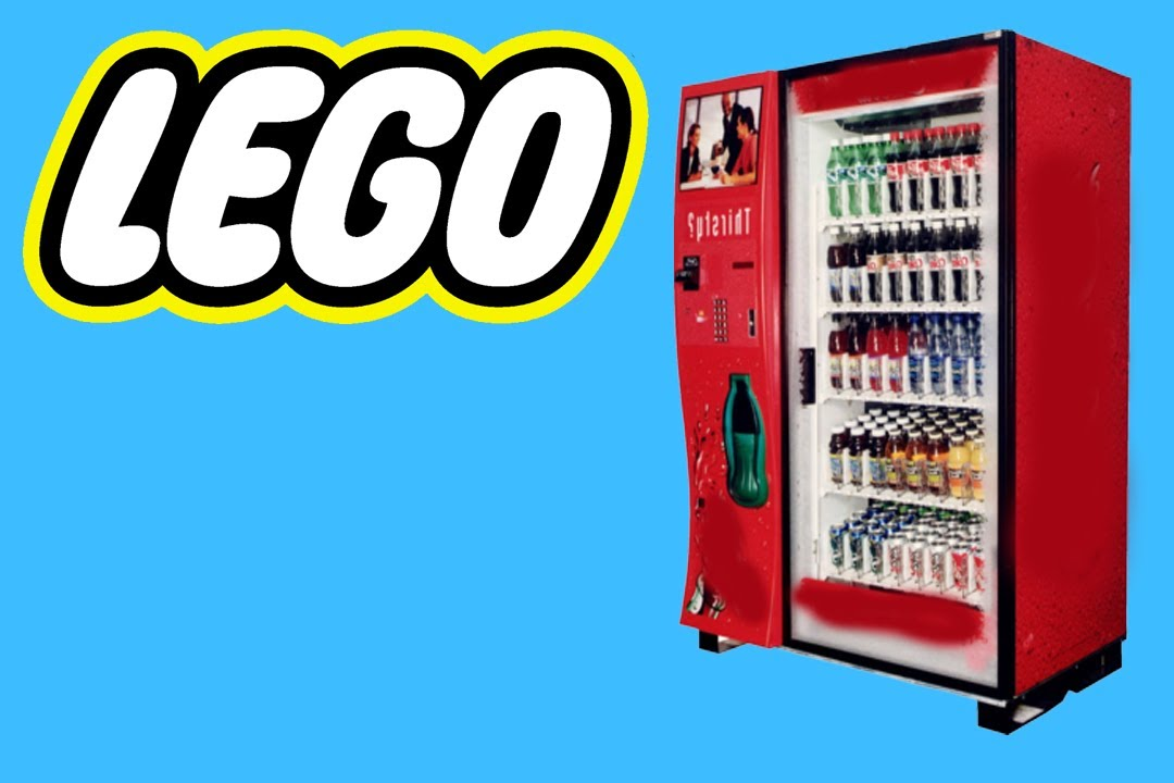 How To Build A Lego Soda Machine