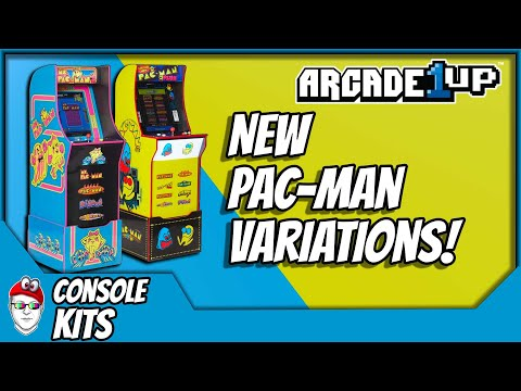 Arcade1Up - New Pac-man variations! These are actually pretty cool! from Console Kits