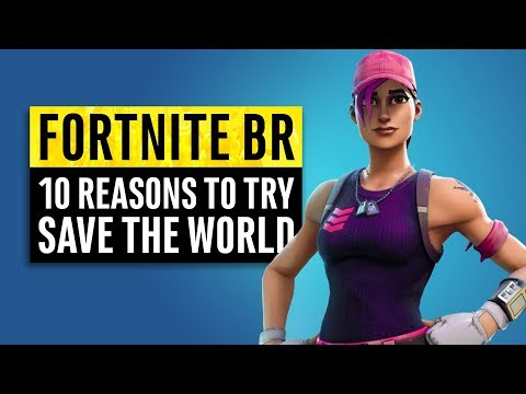 Fortnite | 10 Reasons Battle Royale Players Should Play Save The World