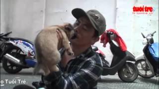 Người đánh giày câm và chú chó mù