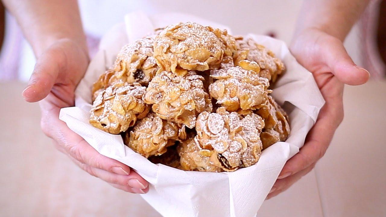 Biscotti Rose Del Deserto Ai Cereali Ricetta Facile Corn Flake
