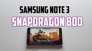 Snapdragon 800 PUBG Mobile Gameplay&Rules of Survival! Gaming test Samsung Note 3
