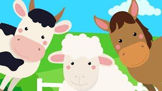 Как говорят домашние животные? Развивающие мультики про животных для детей